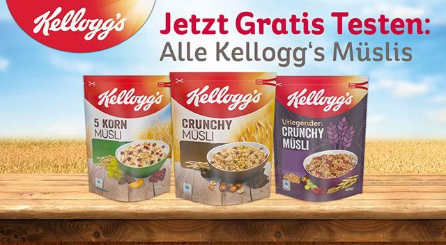 Kellogg's® Müsli Gratis Testen