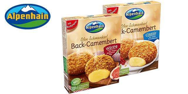 1€ Rabatt auf Alpenhain Back-Camembert