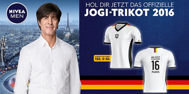 hol dir jetzt das offizielle jogi trikot 2016 von nivea men nivea men coupons bei coupies. Black Bedroom Furniture Sets. Home Design Ideas
