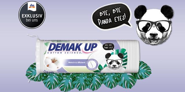 0,35 € auf eine Packung DEMAK'UP Design Edition bei dm