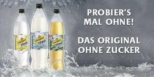 Jetzt Schweppes Zero kaufen und erfrischende 0,40€ Rabatt sichern!