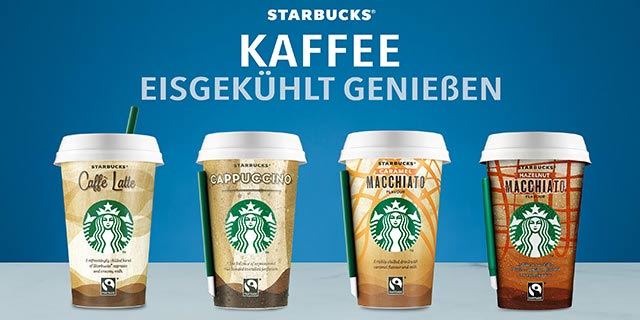 0,50 € auf alle Starbucks® Chilled Classics