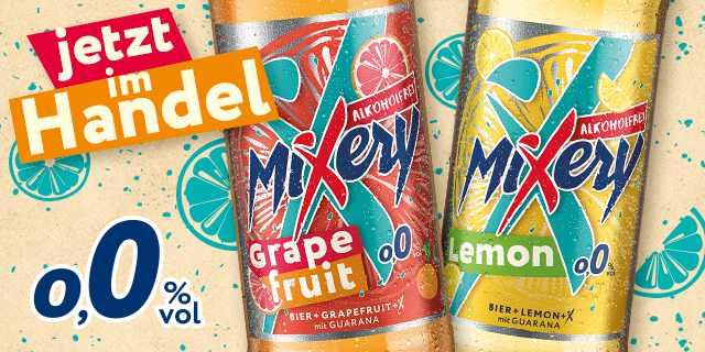 MiXery 0,0 – Jetzt probieren und 50% vom Kaufpreis zurück erhalten