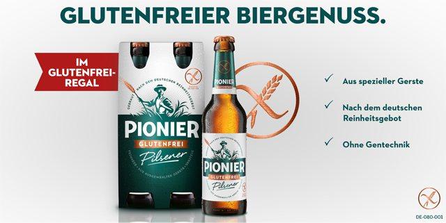 2 € auf Pionier – glutenfreies Bier