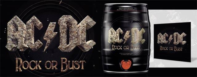 Gewinne 10x AC/DC-Party-Fässchen inkl. AC/DC Album