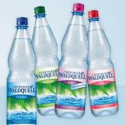 Jetzt einen Kasten Thüringer Waldquell Mineralwasser kaufen und 50 Cent sichern!