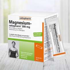 30% Rabatt auf Magnesium-ratiopharm® 300 mg!