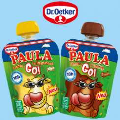 0,20 € auf alle Dr. Oetker PAULA GO!