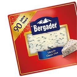 0,50 € Rabatt auf Bergader Edelpilz
