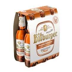 0,50 € Rabatt auf ein Sixpack Bitburger Kellerbier