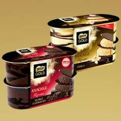 1,00€ beim Kauf von 2 Packungen Nestlé® GOLD Knackige Mousse!